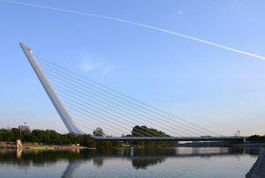 Puente Alamillo en Sevilla